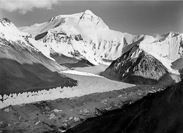 Everest and Main Rongbuk Glacier