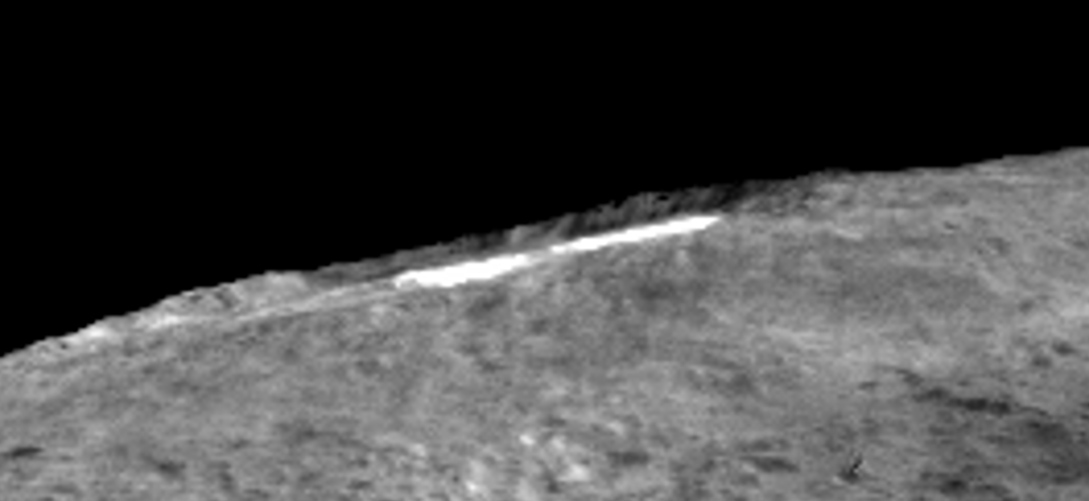 Haze in Occator Crater